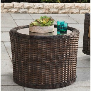 Rexburg Wicker Side Table by Brayden Studio Best