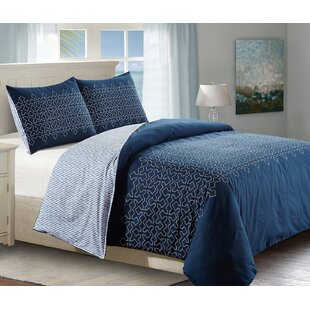 Atlas Cotton 3 Piece Duvet Cover Set