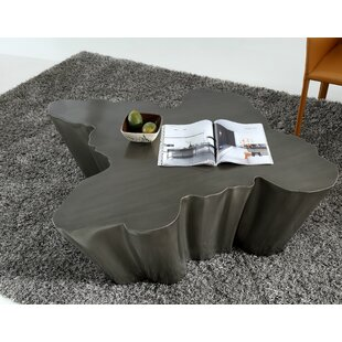 Clower Modern Metal Coffee Table by Orren Ellis