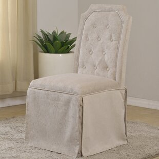 Upholstered Side Chair (Set of 2) BestMasterFurniture