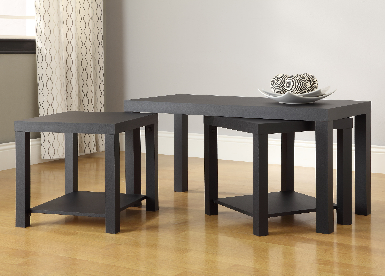 Zipcode Design Clarice 3 Piece Mini Coffee Table Set & Reviews