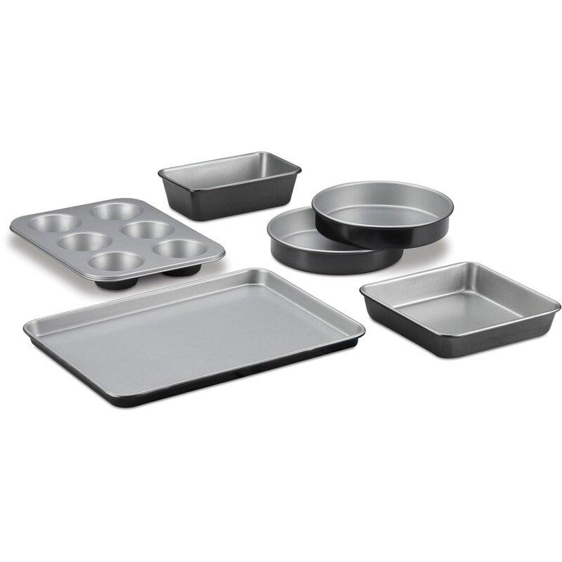 Cuisinart 6 Piece Non Stick Bakeware Set Reviews Wayfair