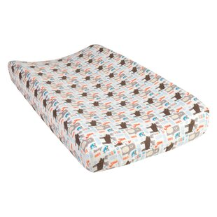 Vanatta Scandi Forest Deluxe Flannel Changing Pad Cover By Harriet Bee