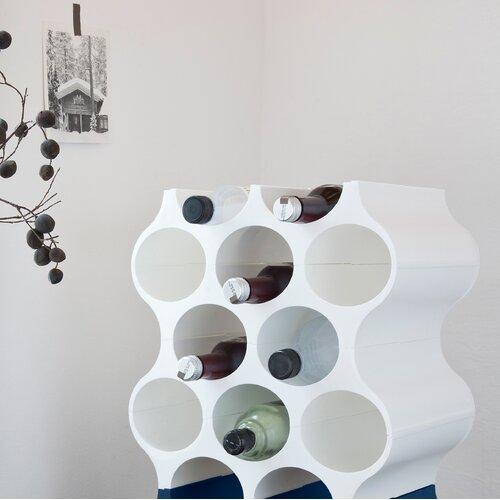 Weinregal Set-Up für 10 Fl.   Küche und Esszimmer > Küchenregale   Weiß   Kunststoff   Koziol