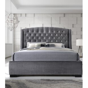 5108f044a584b Upholstered Wingback Bed