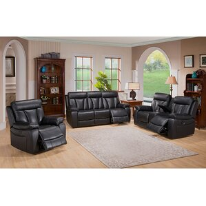Plymouth 3 Piece Living Room Set by Coja