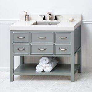 45 Inch Bathroom Vanities 41 to 45 inch bathroom vanities you'll love   wayfair