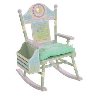 Wildkin Rock-A-Buddies Time to Read Kids Rocking Chair by Wildkin