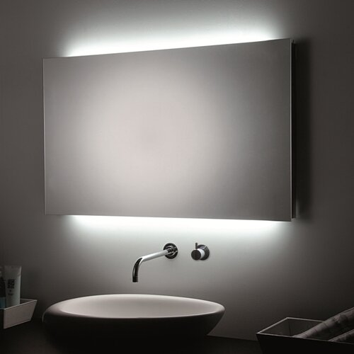 Bathroom Mirror Led ws bath collections led wall bathroom mirror & reviews | wayfair