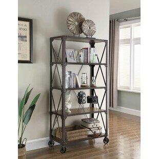 Gracie Oaks Stelly Etagere Bookcase