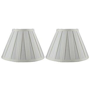 Softback 10 Silk Empire Lamp Shade (Set of 2)