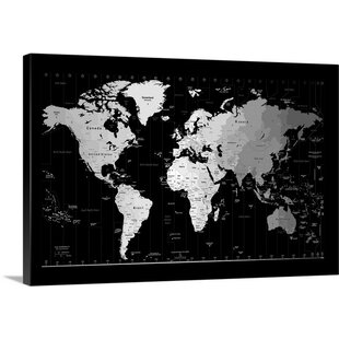 Black And White Subway Map Tapestry.Black White Map Wall Art You Ll Love In 2019 Wayfair