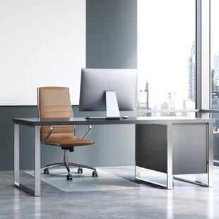 Cleartex Heavy Duty Hard Floor Straight  Chair Mat By Floortex