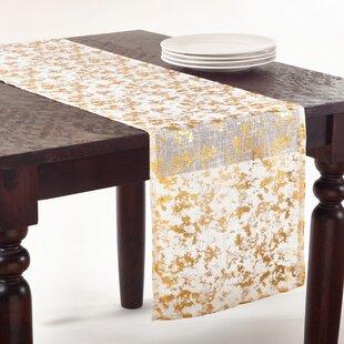 Foil Print Table Runner
