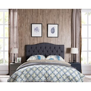 Frausto Upholstered Panel Headboard by Charlton Home