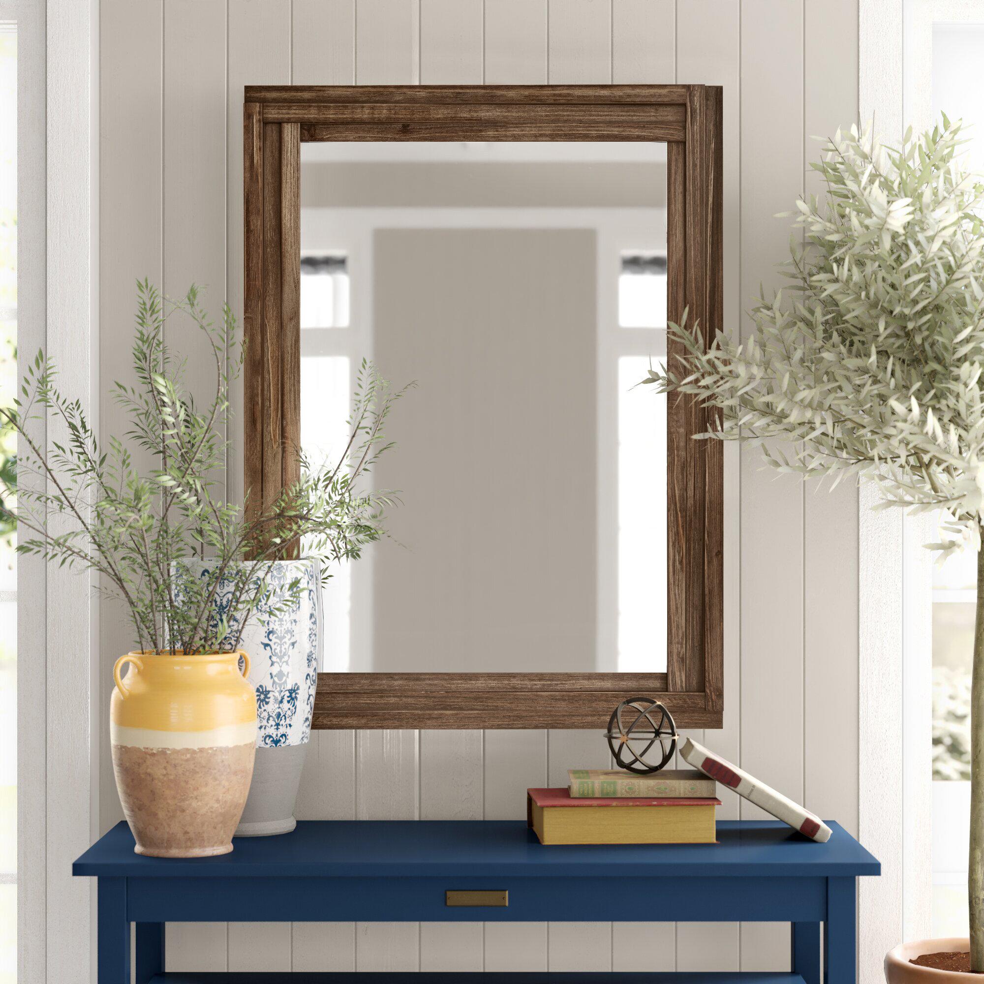 Birch Lane Lidiya Cabin Lodge Wall Mirror Reviews Wayfair
