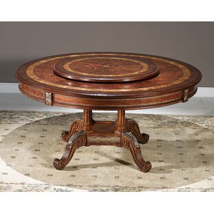 Priston Solid Wood Dining Table by Astoria Grand Spacial Price