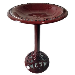 Backyard Expressions Resin BirdBath
