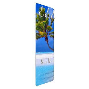 Tropical Dream Wall Mounted Coat Rack By Symple Stuff