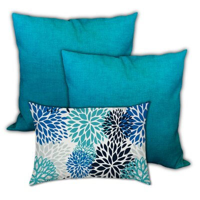 Silvestro Lanai Foliage Indoor / Outdoor Pillow Cover by Red Barrel Studio Purchase