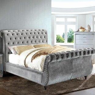 Washburn Upholstered Sleigh Bed