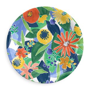 Midsummer Floral Dinner Plate (Set Of 4) By Tar Hong