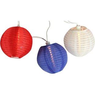 Sienna Lighting 10-Light 9.5 ft. Lantern String Lights