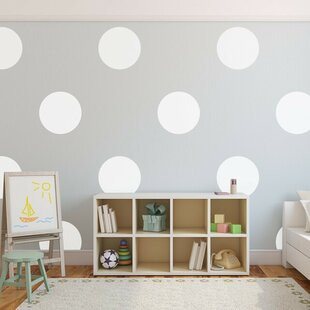 Wall decals youll love wayfair big polka dots wall decal by urban walls gumiabroncs Image collections
