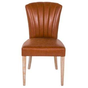 Scalloped Side Chair by Joseph Allen