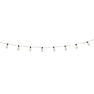 Williston Forge Sinead Edison 10 Light Solar String Light
