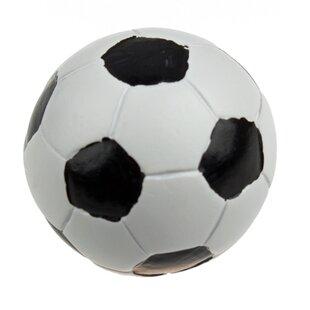 Handpainted Soccer Ball Round Knob