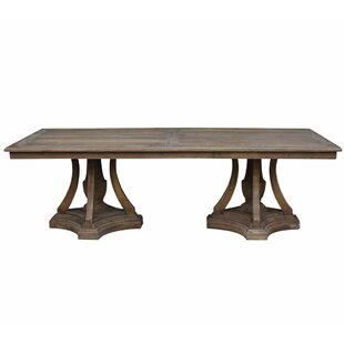 One Allium Way Karly Solid Wood Dining Ta..