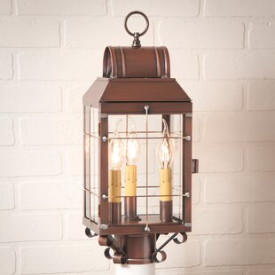 Lundy 3-Light Lantern Head by Gracie Oaks