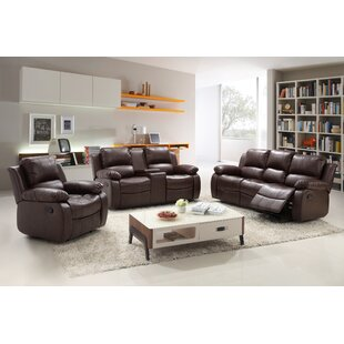 Soler 3 Piece Reclining Living Room Set by Red Barrel Studio