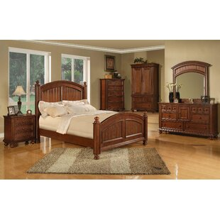 Three Posts Westview 6 Drawer Combo dresser with Mirror