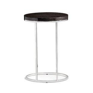 Interlude Elijah Oval End Table