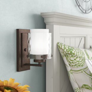 Price comparison Vidette 1-Light Wall Sconce By Laurel Foundry Modern Farmhouse