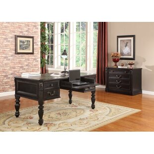 Gunnersbury Writing Desk and File Wall by Astoria Grand