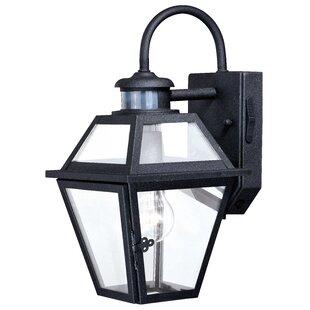 Motion sensor outdoor wall lighting youll love wayfair douglas forge outdoor wall lantern with motion sensor workwithnaturefo