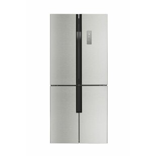 14.9 cu. ft. Counter-Depth French Door Refrigerator with LED Control Panel by Lycan