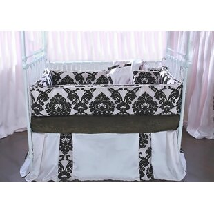 Paris 4 Piece Crib Bedding Set By Blueberrie Kids
