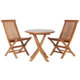 Humphrey 3 Piece Teak Bistro Set