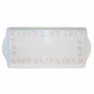 Pink Trio Melamine Rectangular Serving Platter