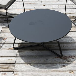 Serac Stainless Steel Coffee Table