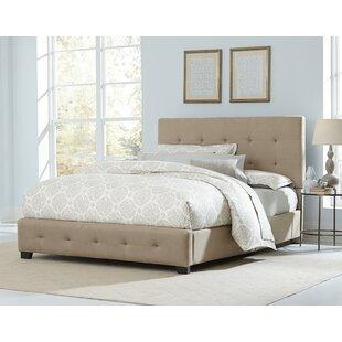 Charlton Home Haynesville Upholstered Panel Bed