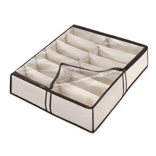 Whitmor, Inc Fabric Underbed Shoe Storage