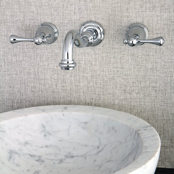 Kingston Brass Wall Mounted Bathroom Faucet Wayfair Ca