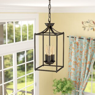 Reviews Howland 3-Light Pendant By Three Posts
