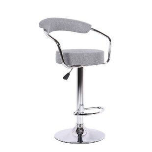 Gueye Adjustable Height Swivel Bar Stool Set of 2