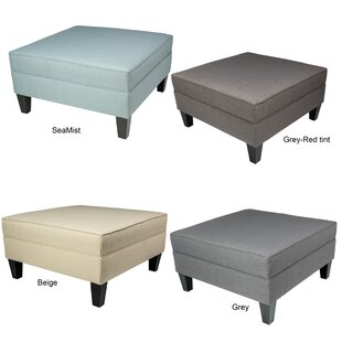 Culloden Cocktail Ottoman by Charlton Home